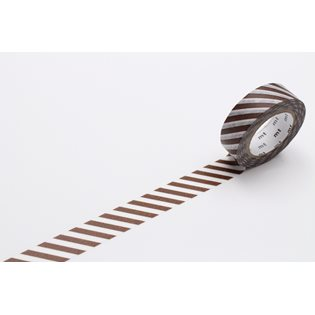 MT Washi Masking Tape - Stripe Almond
