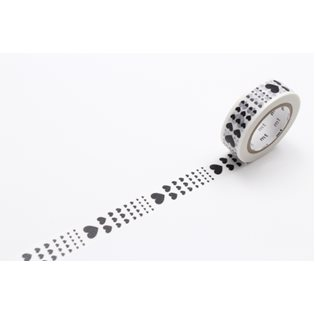 MT Washi Masking Tape - Heart Scale