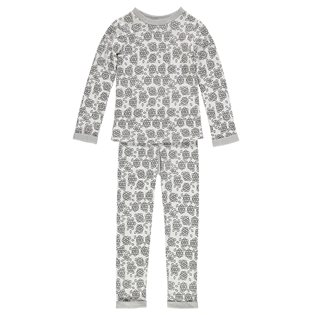 Slim Jyms Pyjamas - Christmas Black &Grey