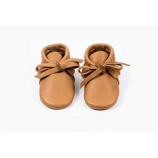 Amy & Ivor Laced Moccasin - Cinnamon