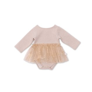 Noe & Zoe Body With Skirt - Gold