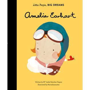 Little People Big Dreams: Amelia Earhart - Book