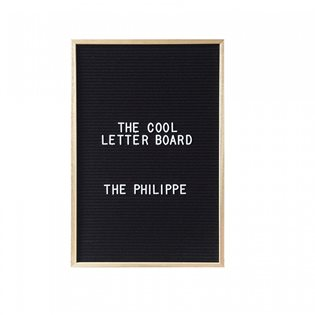 The Philippe Letterboard - Black