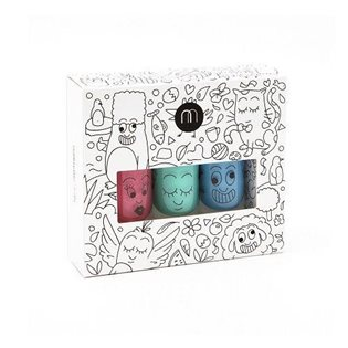 Nailmatic Kids Nail Polish - New Jungle Box Set