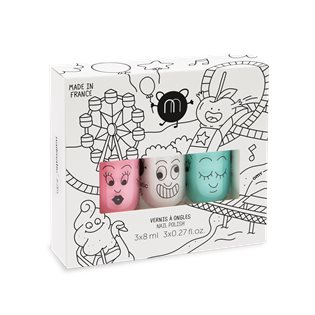 Nailmatic Kids Nail Polish - Funfair - 3 Nail polish set