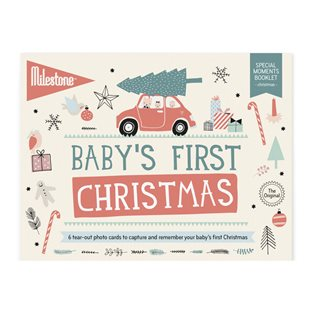 Milestone Baby's First Special Moments - Christmas Cards
