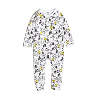 Snoopy & Woodstock Long Romper
