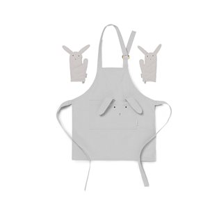 Vincent Apron - Rabbit - Dumbo Grey
