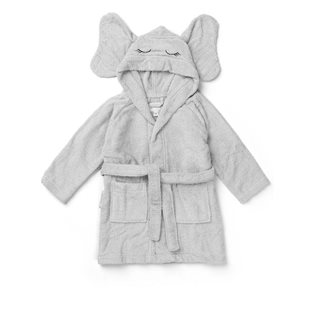 Lily Bathrobe - Elephant - Dumbo Grey