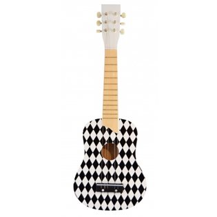 Toy Guitar - 6 Strings - Harlequin
