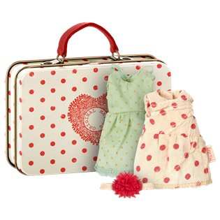 Maileg Mouse Suitcase - With 2 sets Of clothes