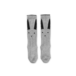 Sofia Knee Socks - Rabbit Grey
