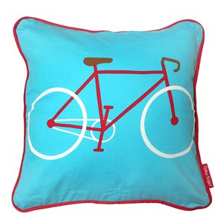 Red Bike Cushion