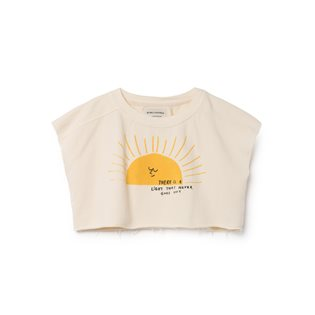 Sun Cropped Sweatshirt
