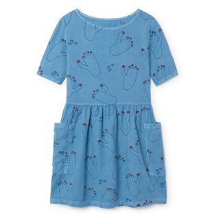 Footprint Pockets Dress