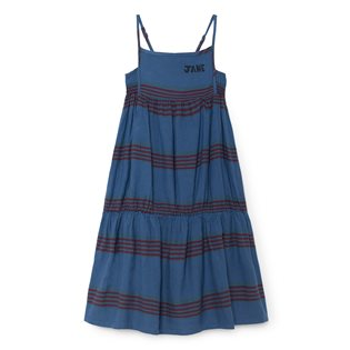 Stripes Linen Princess Dress