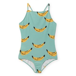 Banana Spagetti Straps Swimsuit