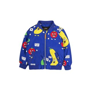Veggie Baseball Jacket - Blue