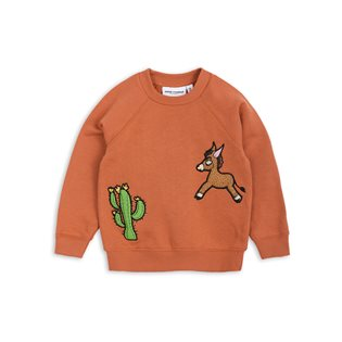 Donkey Cactus Sweatshirt - Orange