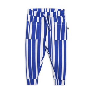 Odd Stripe Trousers - Blue
