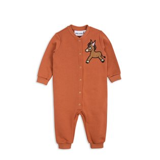 Donkey Cactus Onesie - Orange