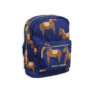 Horse Backpack - Navy