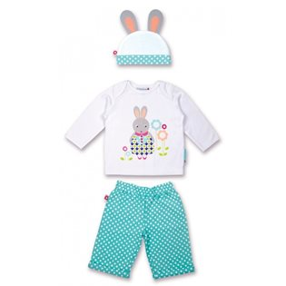 Betty The Bunny Set - Olive & Moss
