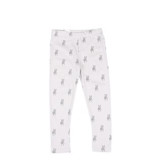 Peace AOP Leggings - Vapour Grey