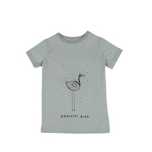 Confetti Bird ONE SS T-Shirt - Jadeite Green