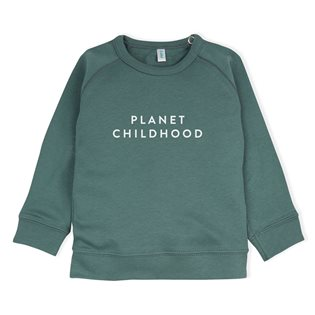 Planet Childhood Sweatshirt - Pine Green