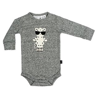 Leopard Long Sleeve Onesie