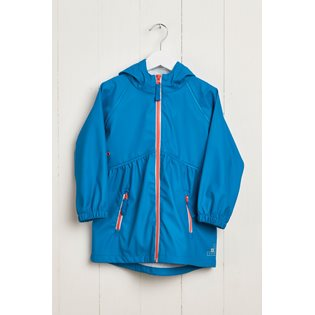 G&A Girls Rainster Jacket - Turquoise