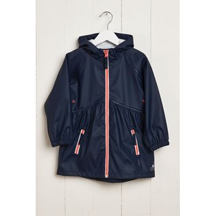 G&A Girls Rainster Jacket - Navy