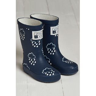 G&A Navy Colour-Revealing Wellies