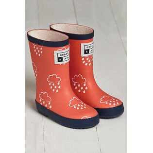 G&A Coral Colour-Revealing Wellies