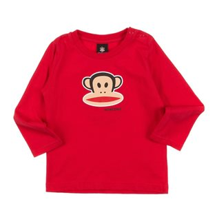 Paul Frank - Long Sleeved Red T-Shirt