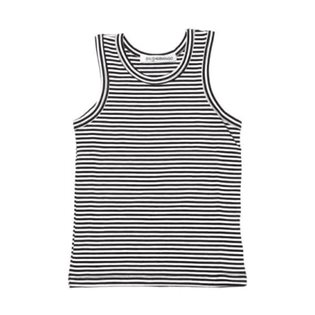 Monochrome Striped Singlet