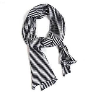 XL Monochrome Stripe Scarf