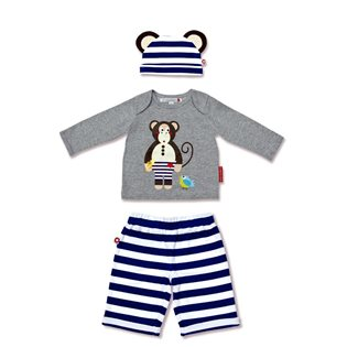 Michael The Monkey Set - Olive & Moss