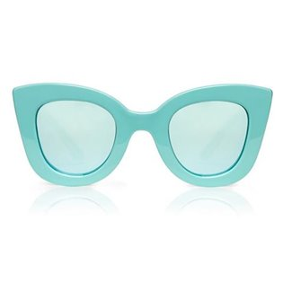 Cat Cat Sunglasses - Aqua