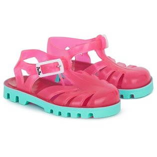 Pink/ Mint Jelly Shoes