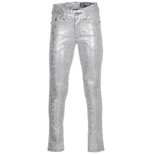 Augustine Cracked Silver Jeans