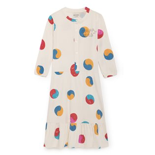 Yin Yang Buttons Dress