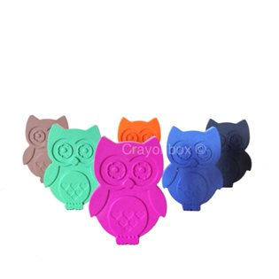 Owl Crayons - Set of 6