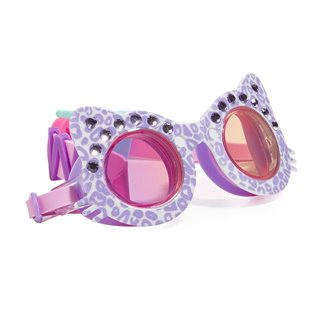 The Cats Meow Swimming Goggles - Mittens Purple