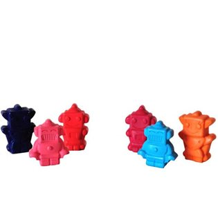 Robot Crayons - Set of 6