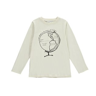Beau Loves Long Sleeved Jersey T-shirt - Globe