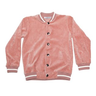 Bomber Jacket - Raspberry