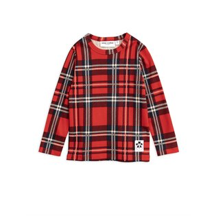 Check LS Tee - Red