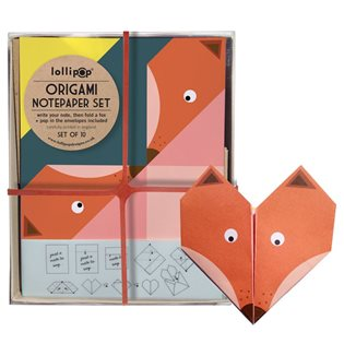 Origami Notepaper Set - Fox